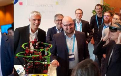 Microsoft Top-Manager treffen elanyo auf der DPK 2018 in Leipzig